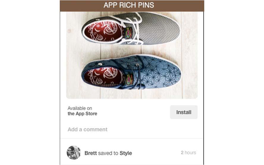 app rich pin